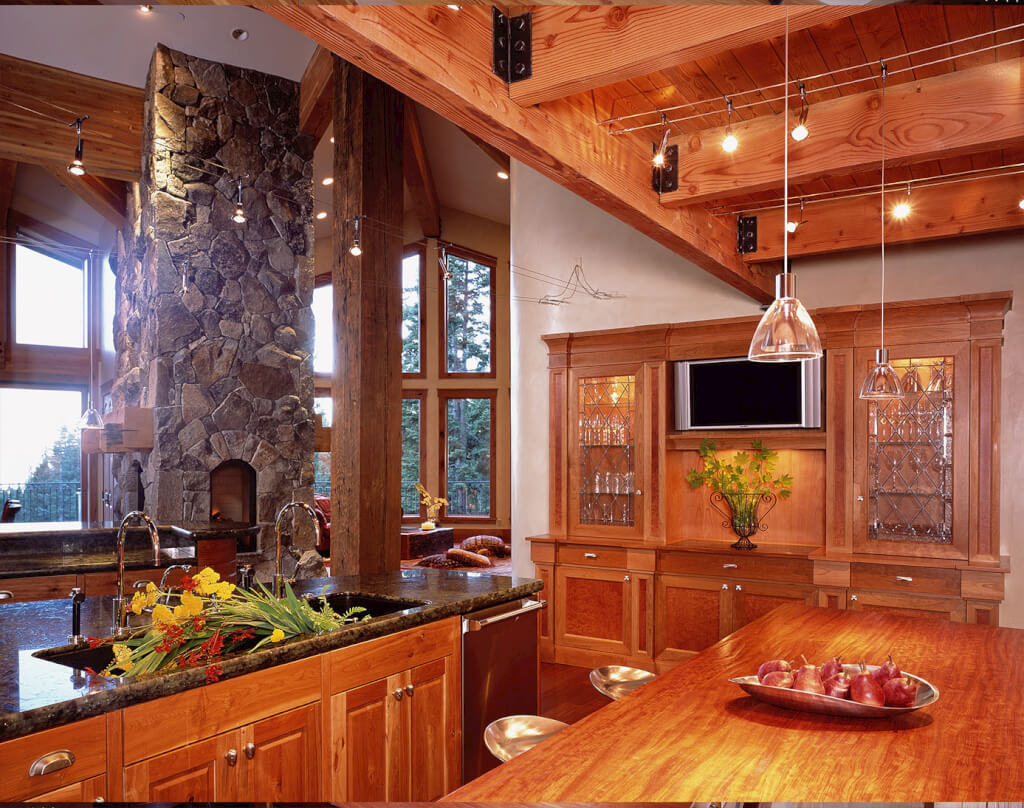 lake tahoe indulgent kitchen anke design